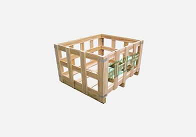 无锡花格木箱